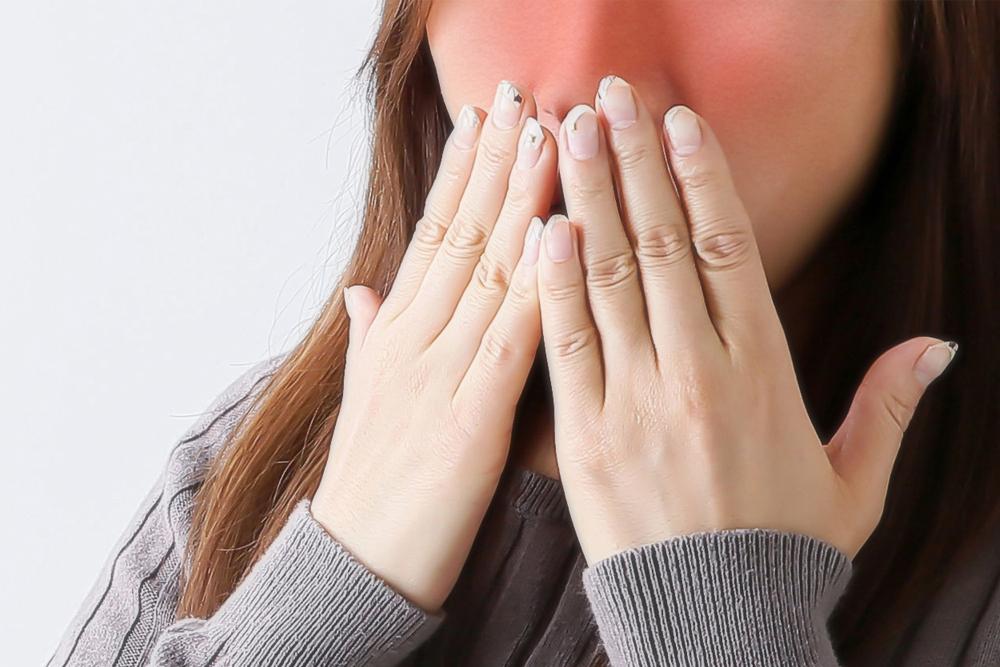 赤面症による赤ら顔のイメージ画像