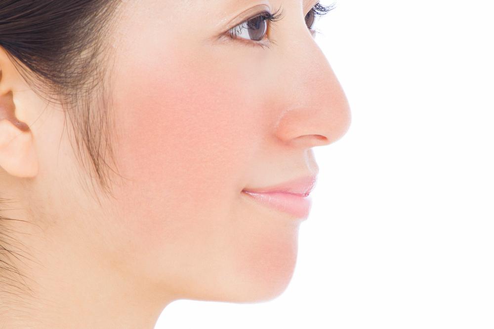 敏感肌の肌状態の画像