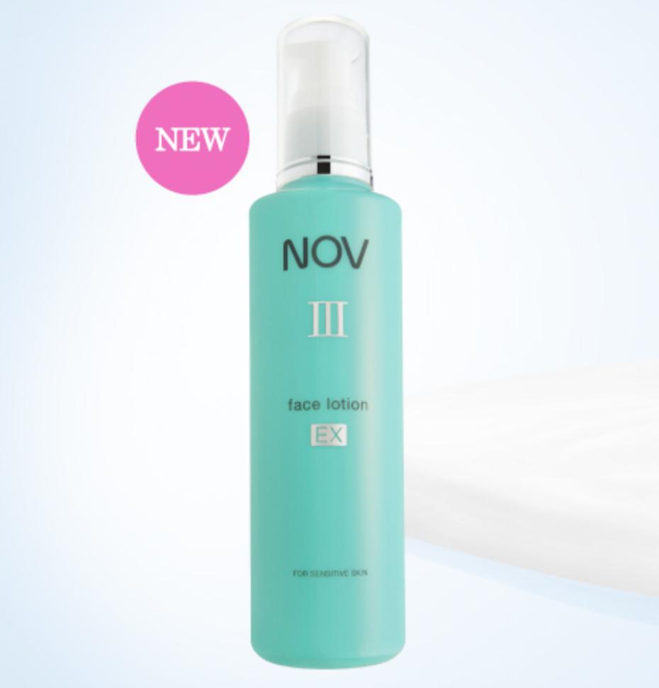 NOVの化粧水の画像