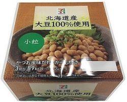 コンビニ商品納豆
